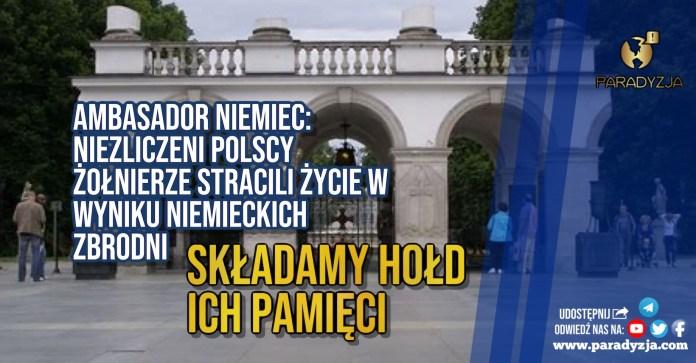 Ambasador Niemiec: Niezliczeni polscy żołnierze stracili życie w wyniku niemieckich zbrodni. Składamy hołd ich pamięci