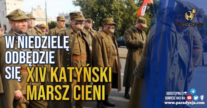 W niedzielę odbędzie się XIV Katyński Marsz Cieni