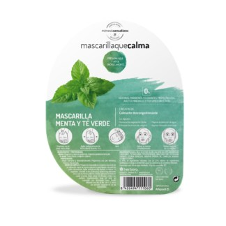 Mascarilla Menta y té verde