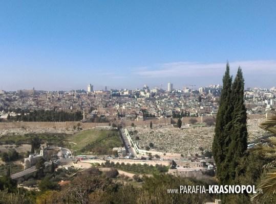 2020.01.28 Panorama Jerozolimy od strony Góry Oliwnej