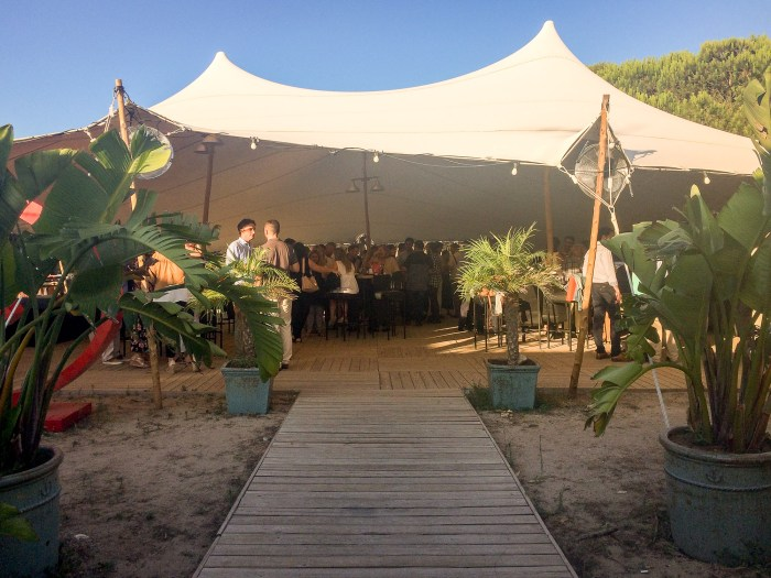 VOLKSWAGEN FINANCIAL SERVICES EVENTO - Carpa barcelona Gava