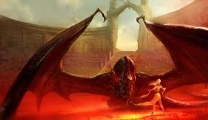 ilustração de Marc Simonetti - A Dança dos Dragões