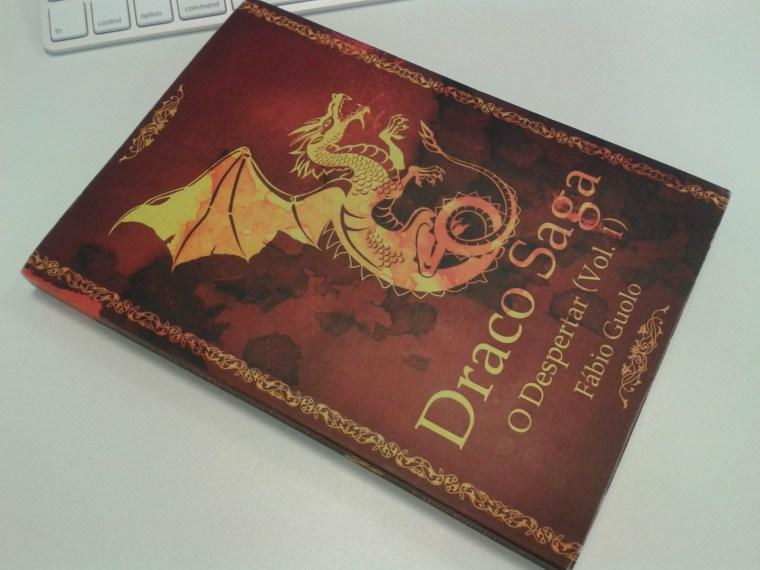livro Draco Saga: O Despertar (vol.1) - Fábio Guolo