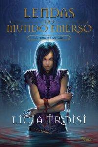 capa do livro Filha do Sangue - Licia Troisi