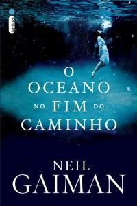 capa do livro O Oceano no Fim do Caminho - Neil Gaiman