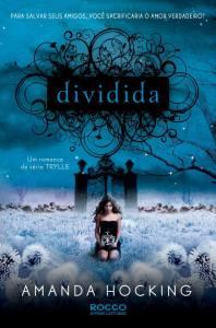 capa do livro Dividida - Amanda Hocking