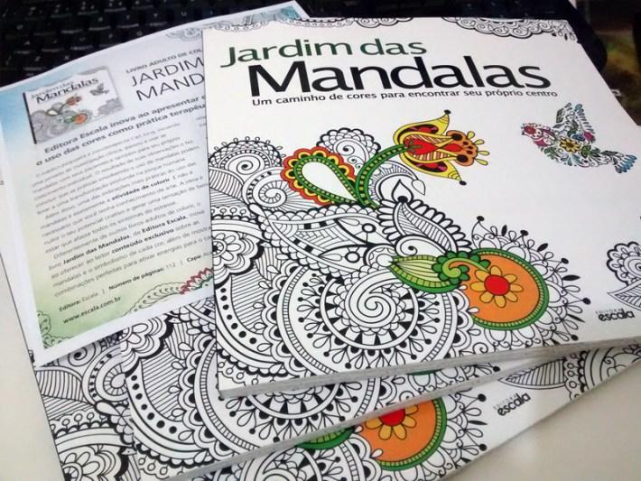 Jardim das Mandalas - Ed. Escala