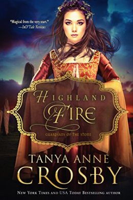 highland fire - tanya anne crosby