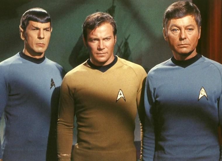 star trek - uniformes masculinos
