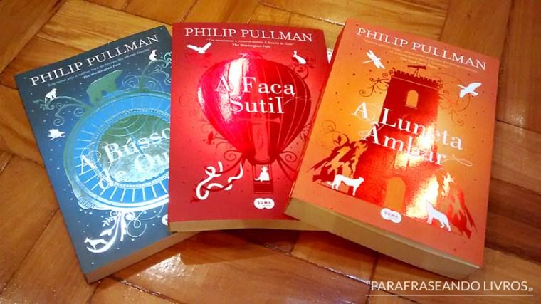 trilogia fronteira do universo - philip pullman