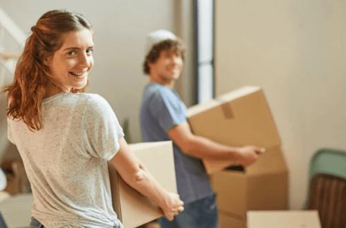 couple déménagement