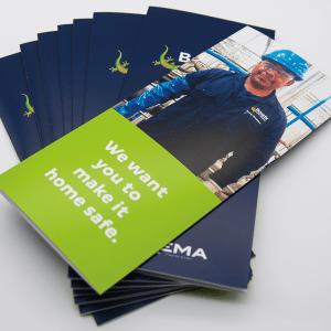 Brochure - Tri-folded 8.5x11
