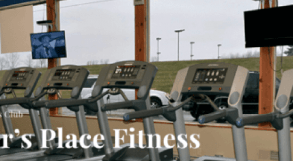 This is an example of one of our sites, Parker's Place Fitness Website.