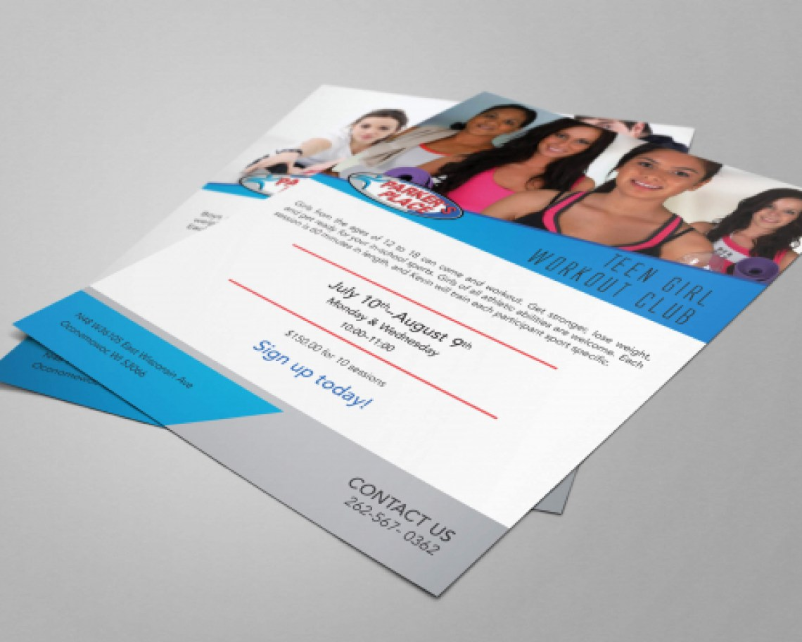 An example of one of our Flyer Designs.