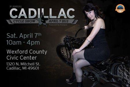 Cadillac Motorcycle Swap Meet April 2012