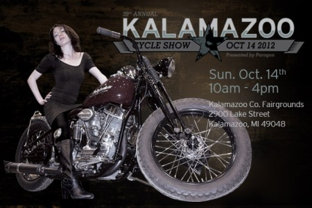 39th Annual Kalamazoo Motorcycle Show October 14, 2012