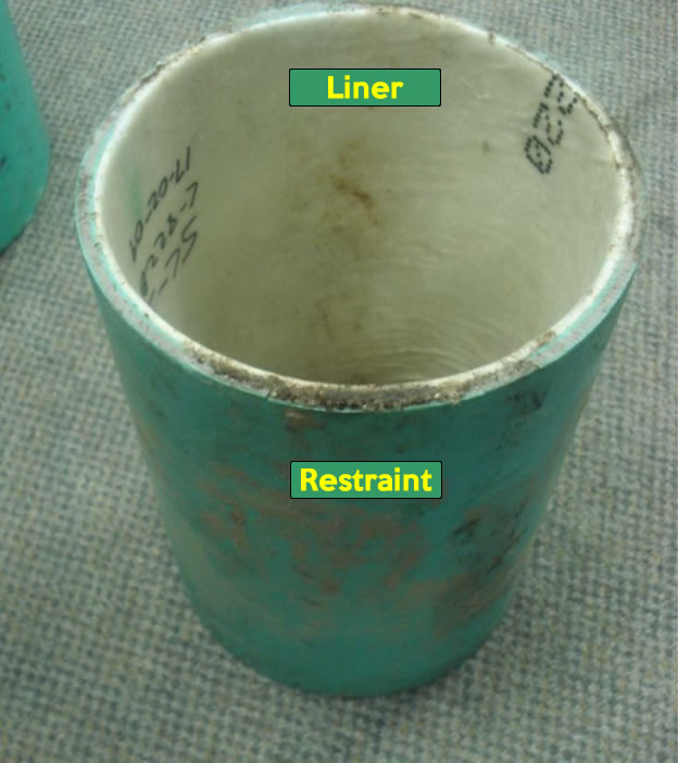 Typical CIPP field sample