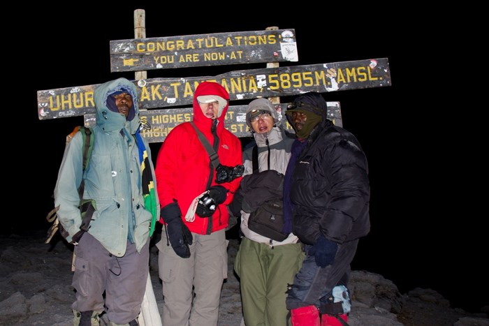 kilimandzaro szczyt