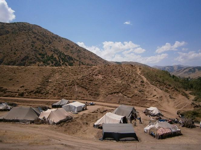 wioska kurdyjska