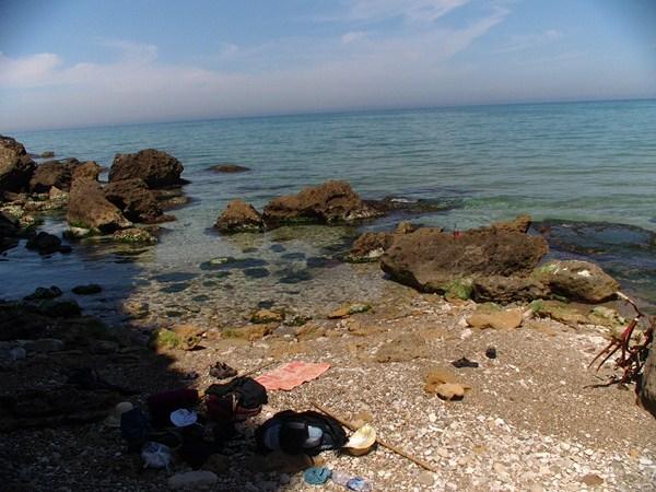 Nasza prywatna plaża w Castellamare