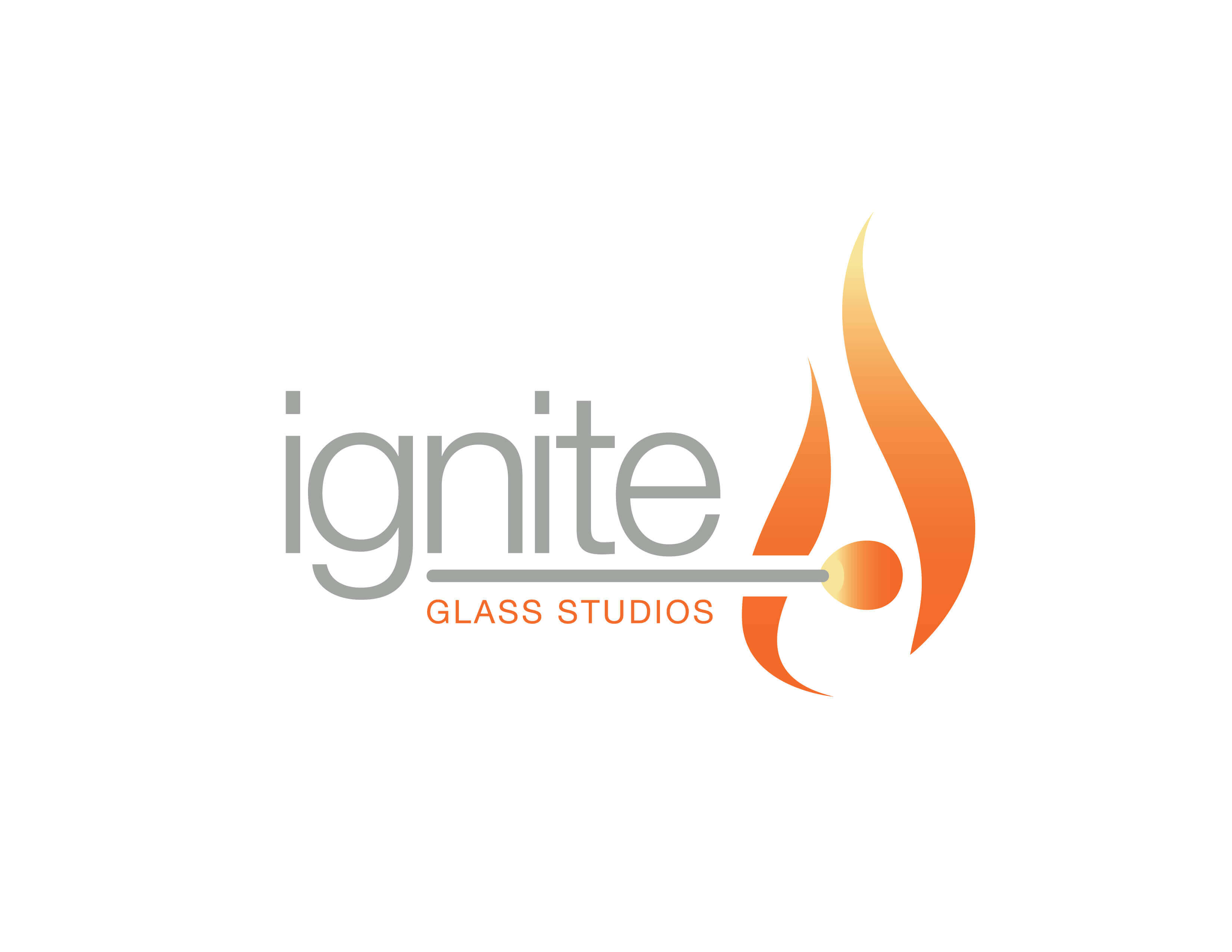 Paragraphs Names And Designs Identity For Ignite Glass Studios