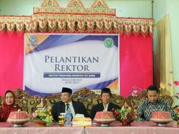 Acara Pelantikan Rektor Institut Parahikma Indonesia Periode 2018-2023