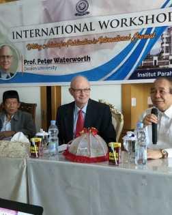 Seminar Internasional Peter Waterwarth