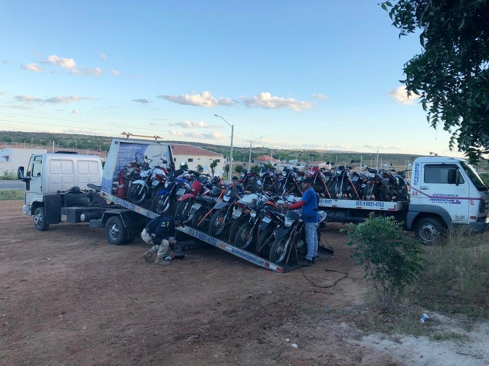 PRF fiscaliza motocicletas no Cariri