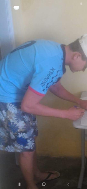"""""""A casa caiu"""": Acusado de furto de ventilador em Posto Policial em Caraúbas é localizado e preso."""