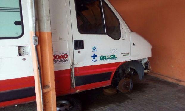 Vereador quer saber da PMJP quantas ambulâncias do Samu ainda funcionam na capital