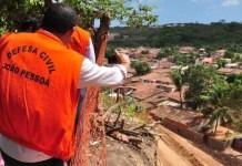 Defesa Civil realiza ações para reparar os danos causados pelas chuvas em JP