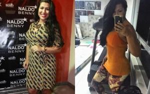 Ellen Cardoso, a Mulher Moranguinho, perde 19 quilos após chegar aos 91kg