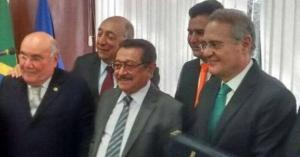 """Mídia nacional destaca fidelidade de senador paraibano a Renan: """"cumpridor de ordem"""""""