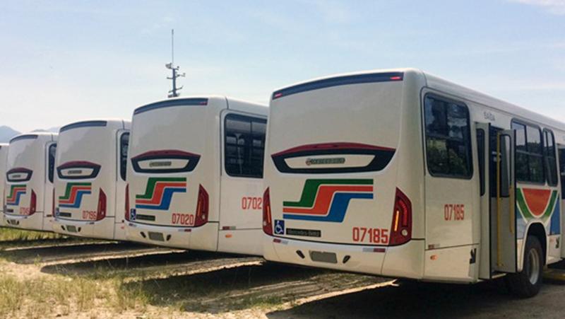 Frota de ônibus de João Pessoa ganha 33 ônibus 0 km