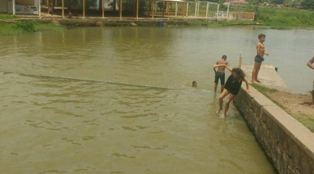 Açude Coremas Mãe d'Água recebe carga do Rio Piancó e aumenta de nível; veja