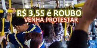 Usuários organizam protesto contra aumento no preço da passagem de ônibus autorizado por Cartaxo