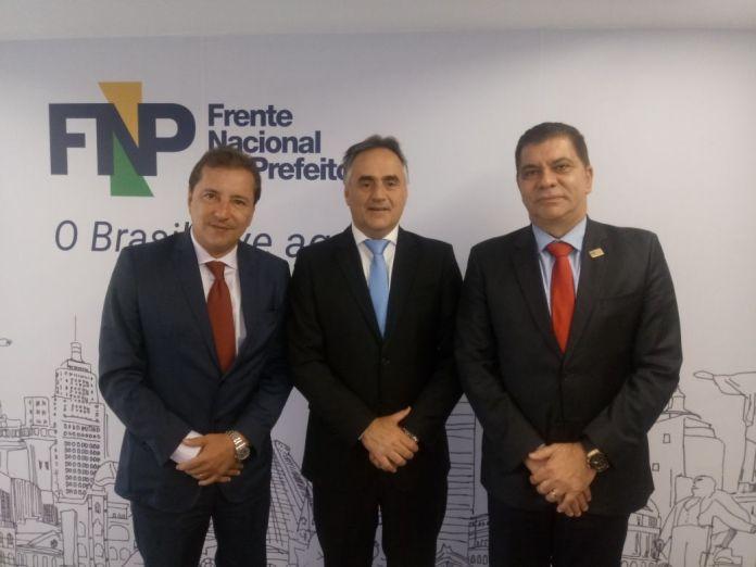 Cartaxo participa de reunião da Frente Nacional de Prefeitos, em Brasília