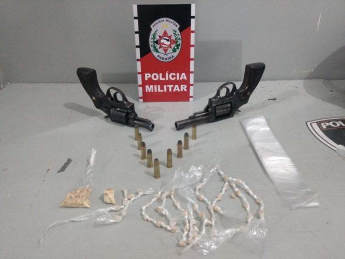 Polícia prende trio e apreende 100 pedras de crack em Santa Rita