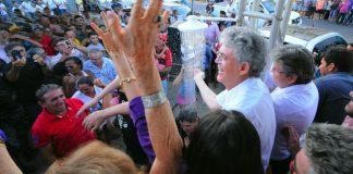 Ricardo entrega adutora que beneficia 12 mil moradores de Diamante e Boa Ventura