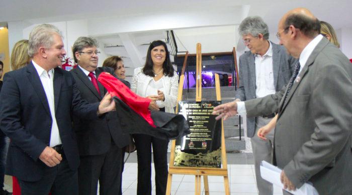 Memorial sobre Ricardo Coutinho é inaugurado na Fundação Casa de José Américo, em JP