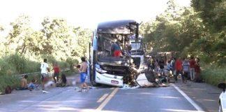 Nomes das oito vítimas do acidente com ônibus da PB em MG começam a ser identificados