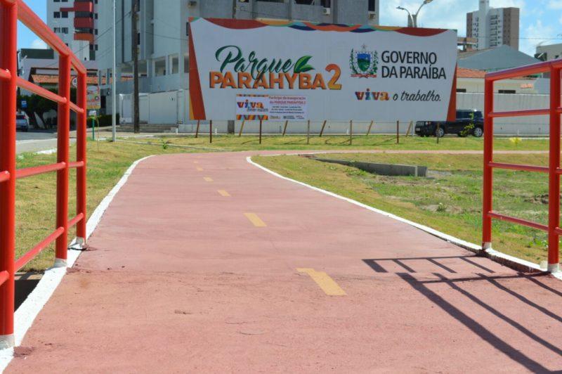 Ricardo e João entregam hoje a segunda etapa do Parque Linear Parahyba