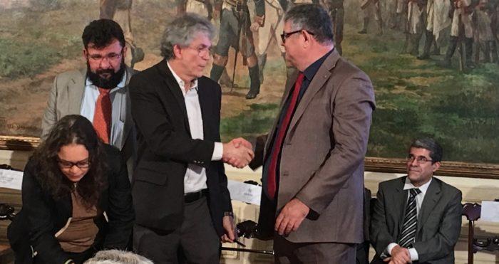 Ricardo assina termo de cooperação com Anid para realização do Expotec 2018