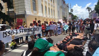 No dia Internacional da Mulher, João Pessoa registra protestos e manifestações