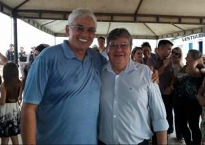 Em São Mamede, João Azevêdo recebe o apoio de lideranças políticas do Vale do Sabugi