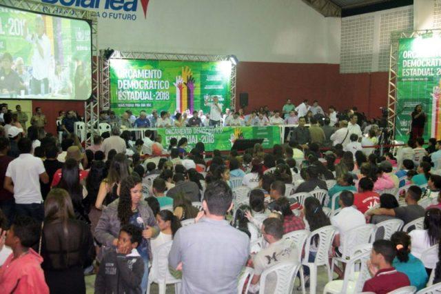 Em Solânea, Ricardo anuncia novas obras e encerra ciclo 2018 do Orçamento Democrático