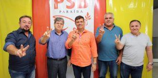 Prego batido! Prefeito de Cabedelo oficializa apoio à pré-candidatura de João Azevêdo