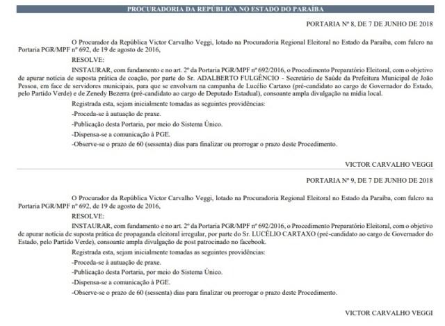 Vazamento de áudios: procurador eleitoral abre processo para apurar denúncia envolvendo Lucélio