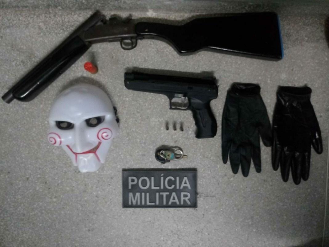 Polícia intercepta quadrilha que planejava arrombar loja no Agreste da PB