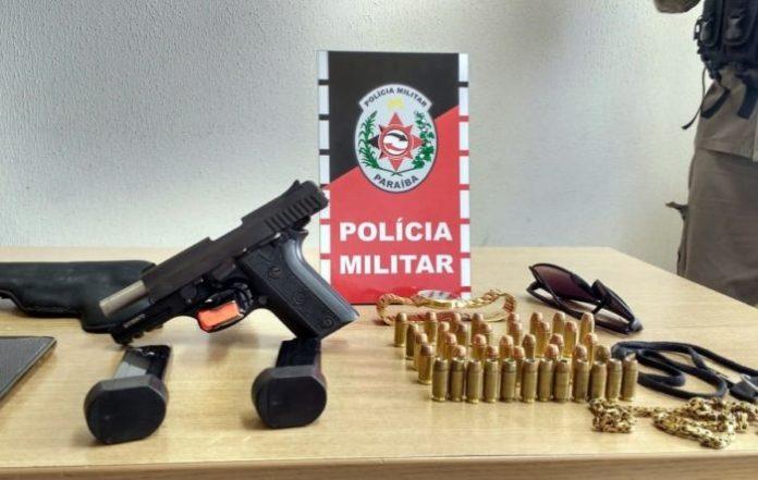 Polícia Militar recaptura em João Pessoa mais foragido do presídio PB1